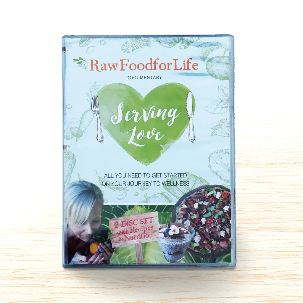 Serving Love - Recipes & Nutrition DVD - Organic Food Delivered - Oliver's Real Food