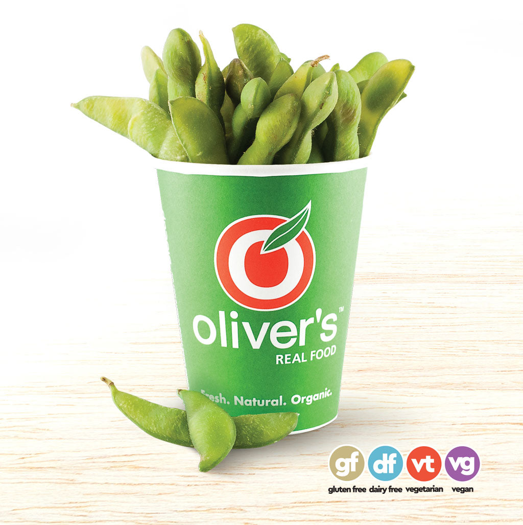 Steamed Edamame (Soy Beans)