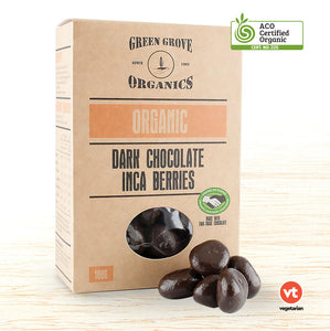 Green Grove Organic Dark Chocolate Inca Berries - Organic Food Delivered - Oliver's Real Food
