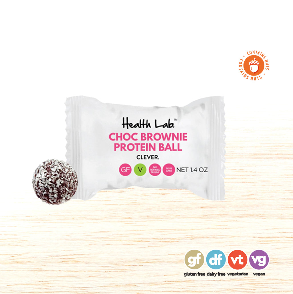 Choc Brownie Protein Ball