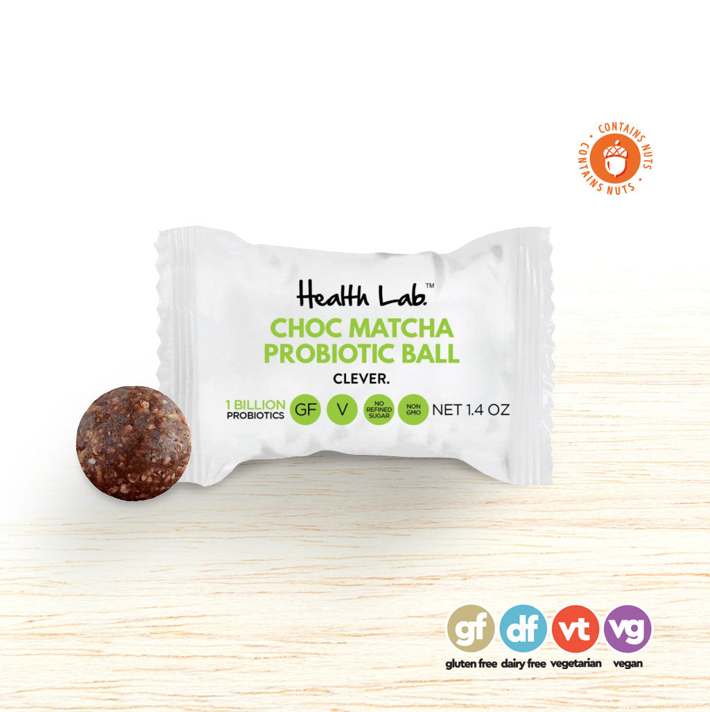 Ball - Health Lab Probiotic Ball - Choc Matcha