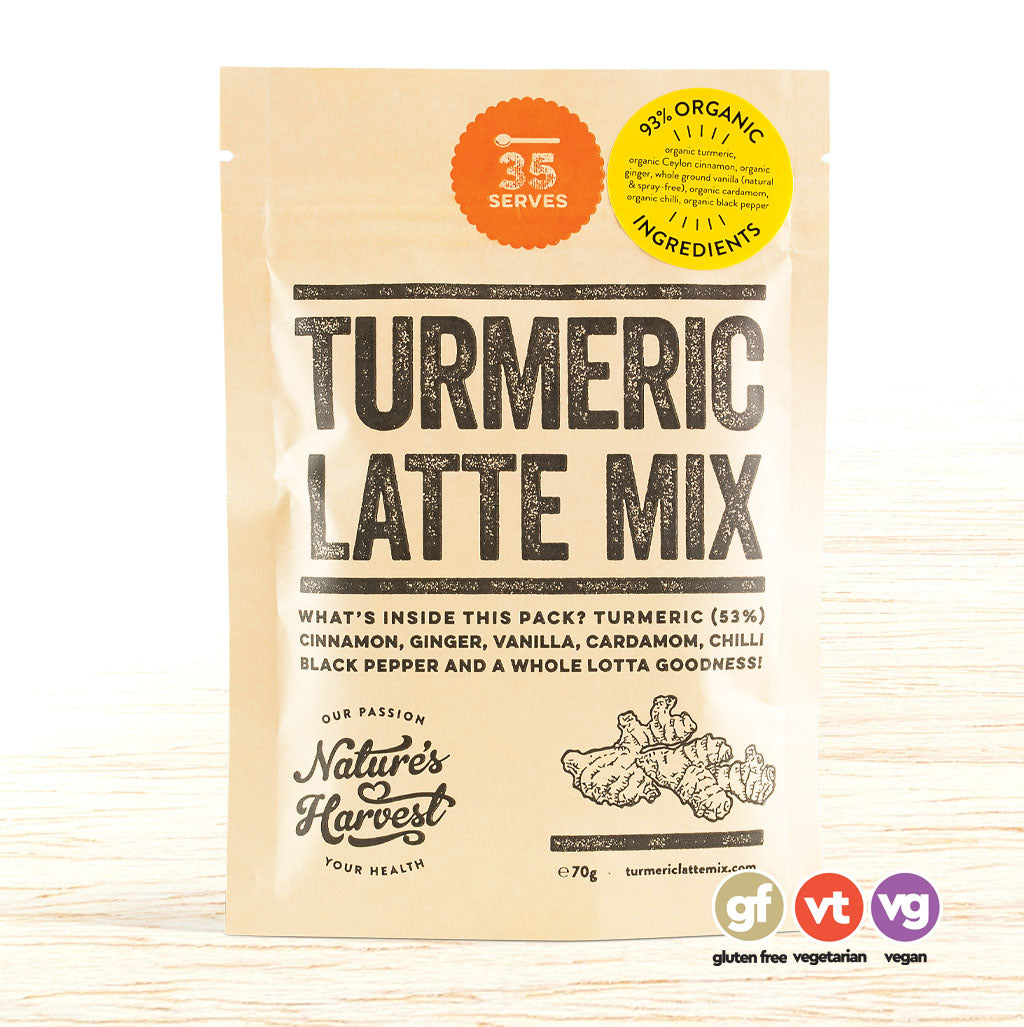Nature's Harvest Turmeric Latte Mix - Organic Food Delivered - Oliver's Real Food