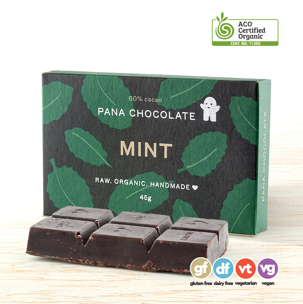 Chocolate - Pana Organic Raw - Mint
