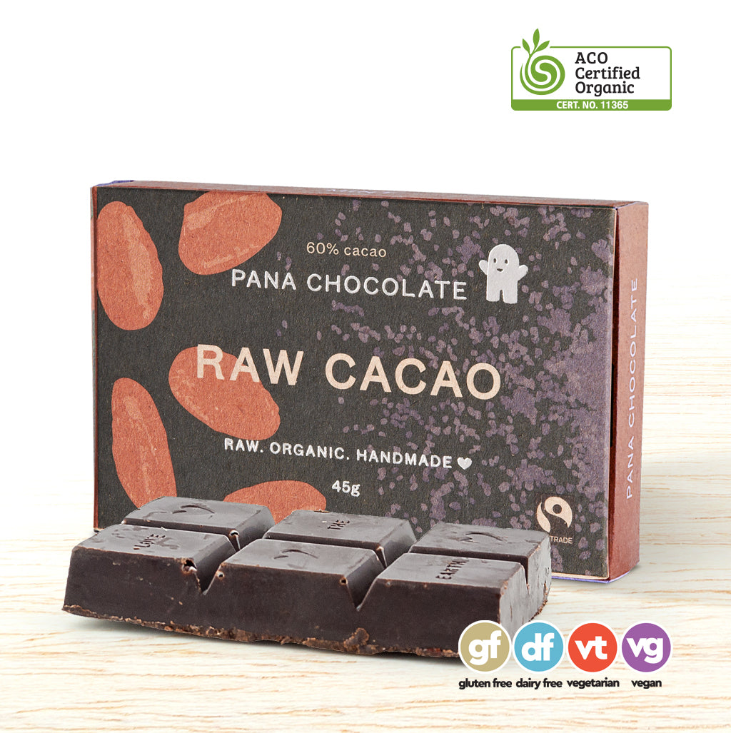 Pana Organic Raw Chocolate - Raw Cacao