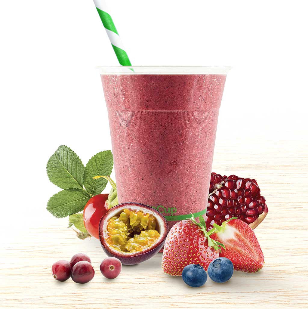 Super Smoothie - Antioxidant Red - Organic Food Delivered - Oliver's Real Food