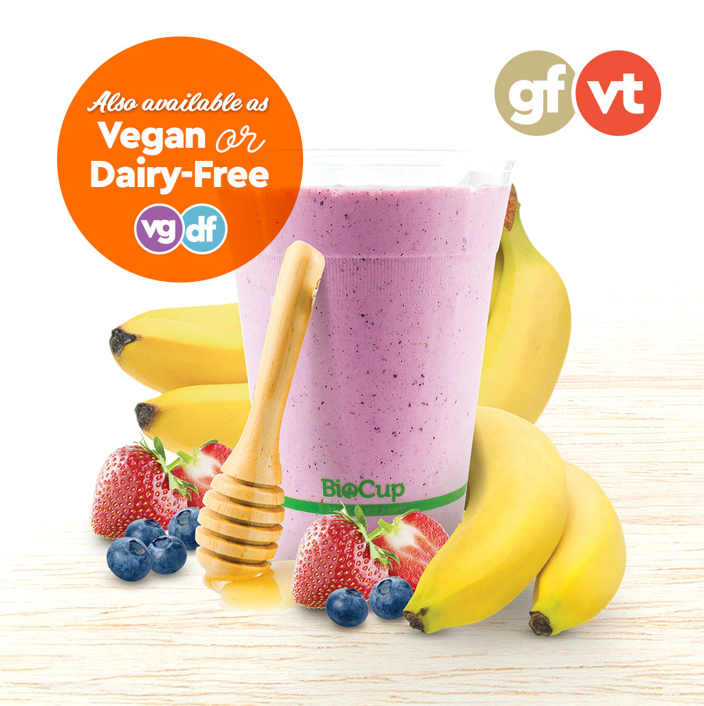 Smoothie - Banana Berry - Oliver's Real Food