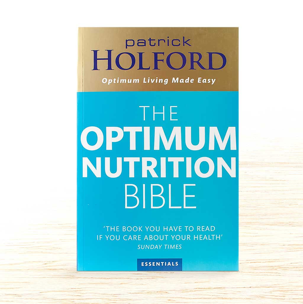 Optimum Nutrition Bible - Patrick Holford - Organic Food Delivered - Oliver's Real Food