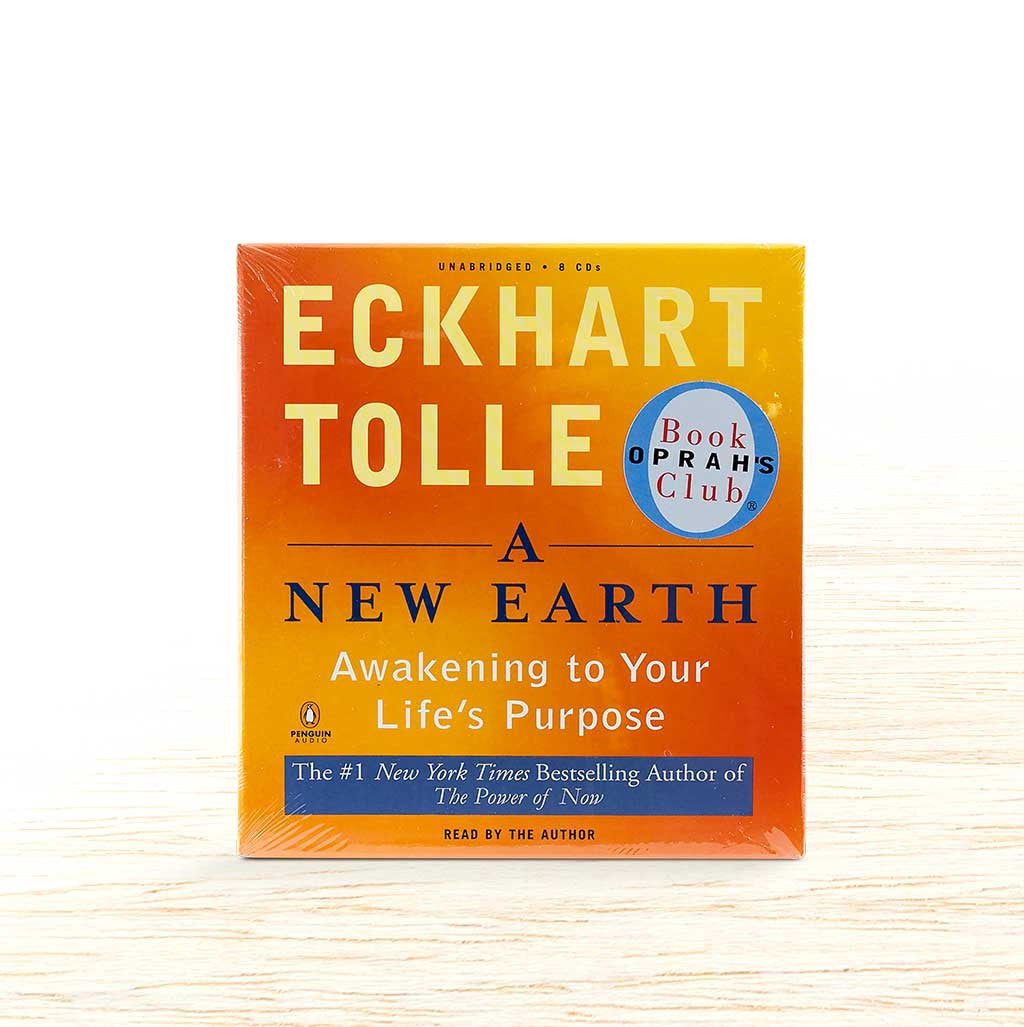 A New Earth - Eckhart Tolle - Organic Food Delivered - Oliver's Real Food