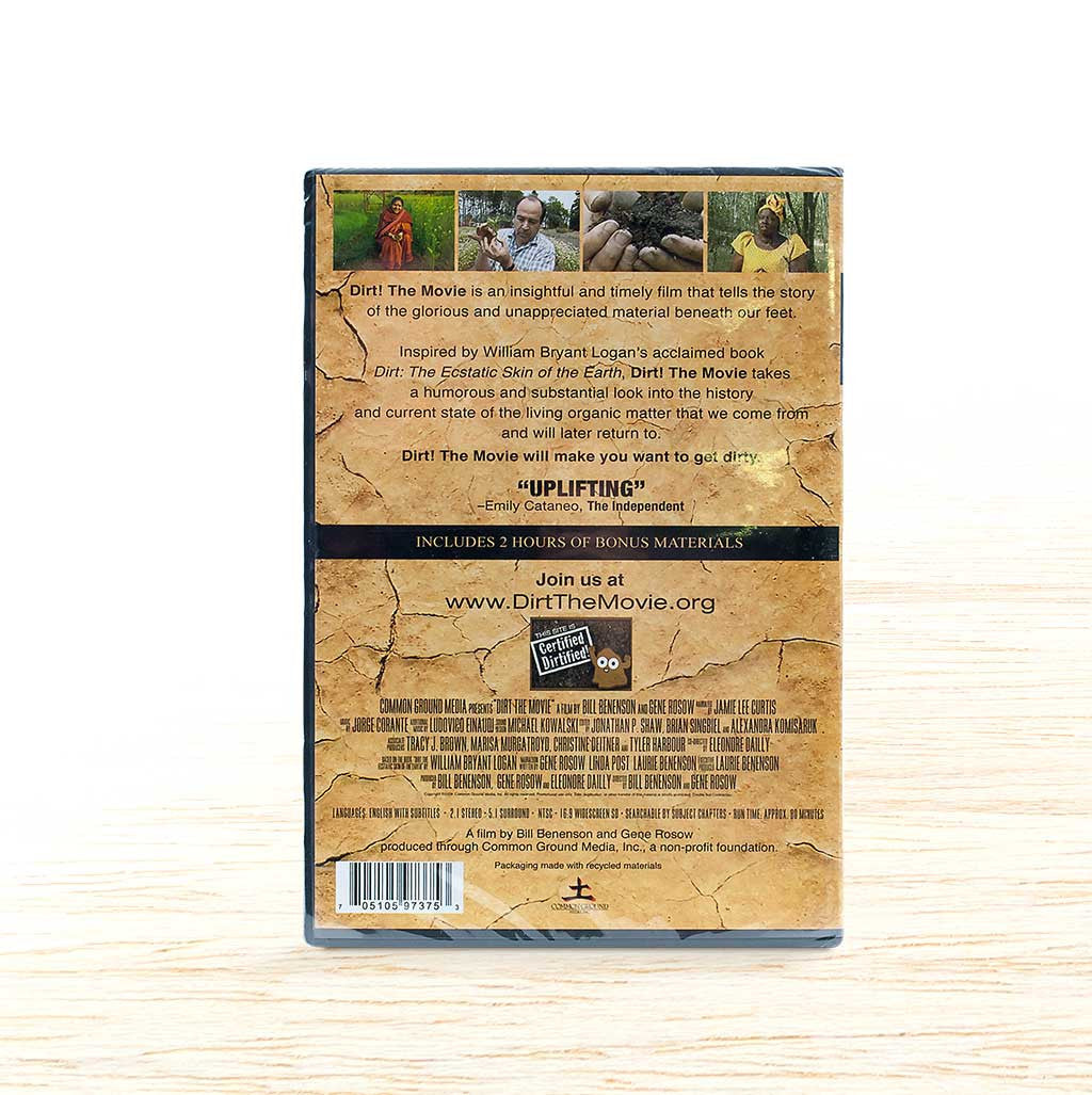 Dirt DVD - Organic Food Delivered - Oliver's Real Food