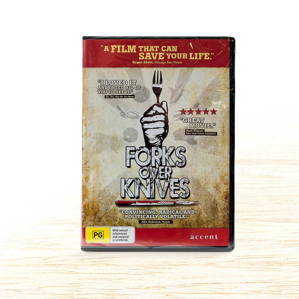 Forks Over Knives DVD - Organic Food Delivered - Oliver's Real Food