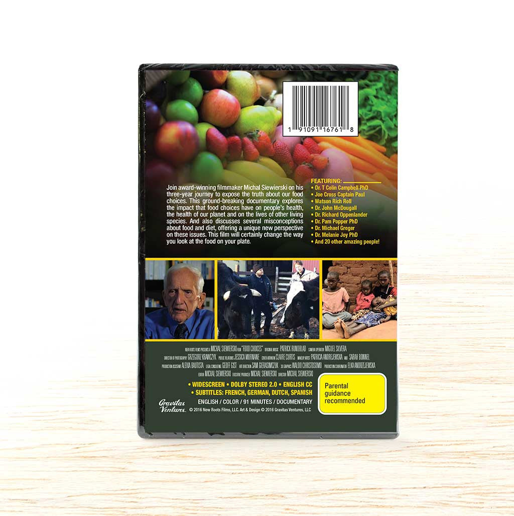 Food Choices DVD - Organic Food Delivered - Oliver's Real Food