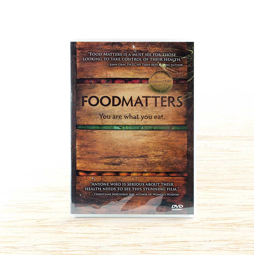 Food Matters DVD - Organic Food Delivered - Oliver's Real Food