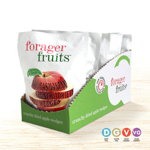 Forager Fruits Freeze-Dried Apple Wedges - Oliver's Real Food