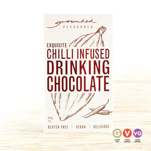 Grounded Pleasures Drinking Chocolate - Chilli Infused