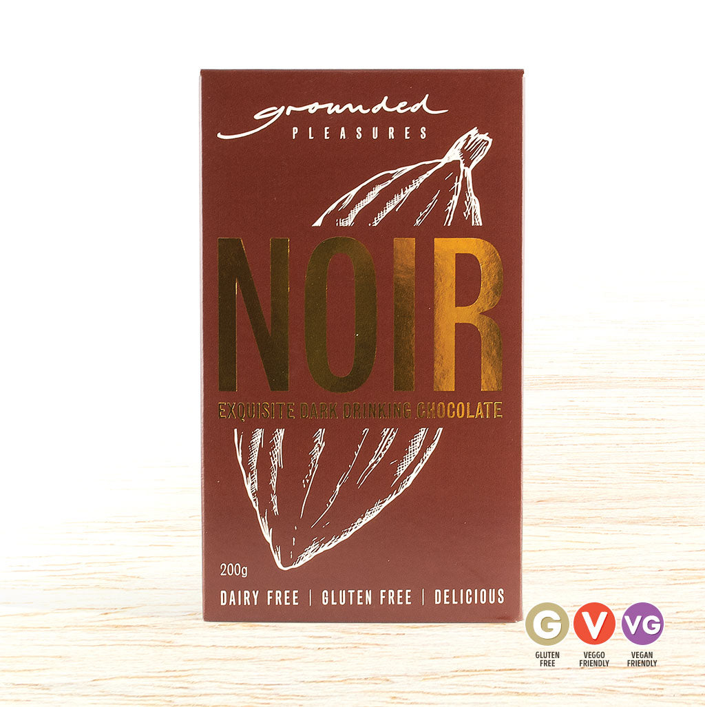 Grounded Pleasures Drinking Chocolate - Noir - Organic Food Delivered - Oliver's Real Food