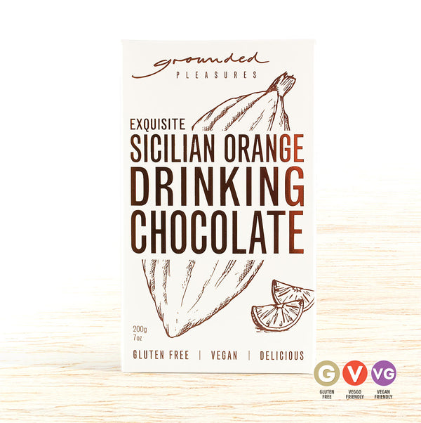 Grounded Pleasures Drinking Chocolate - Sicilian Orange