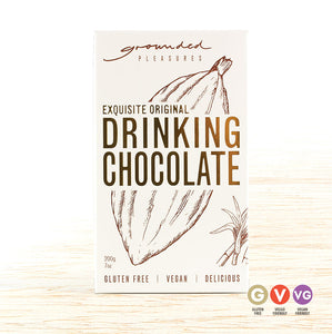 Grounded Pleasures Drinking Chocolate - Original - Organic Food Delivered - Oliver's Real Food