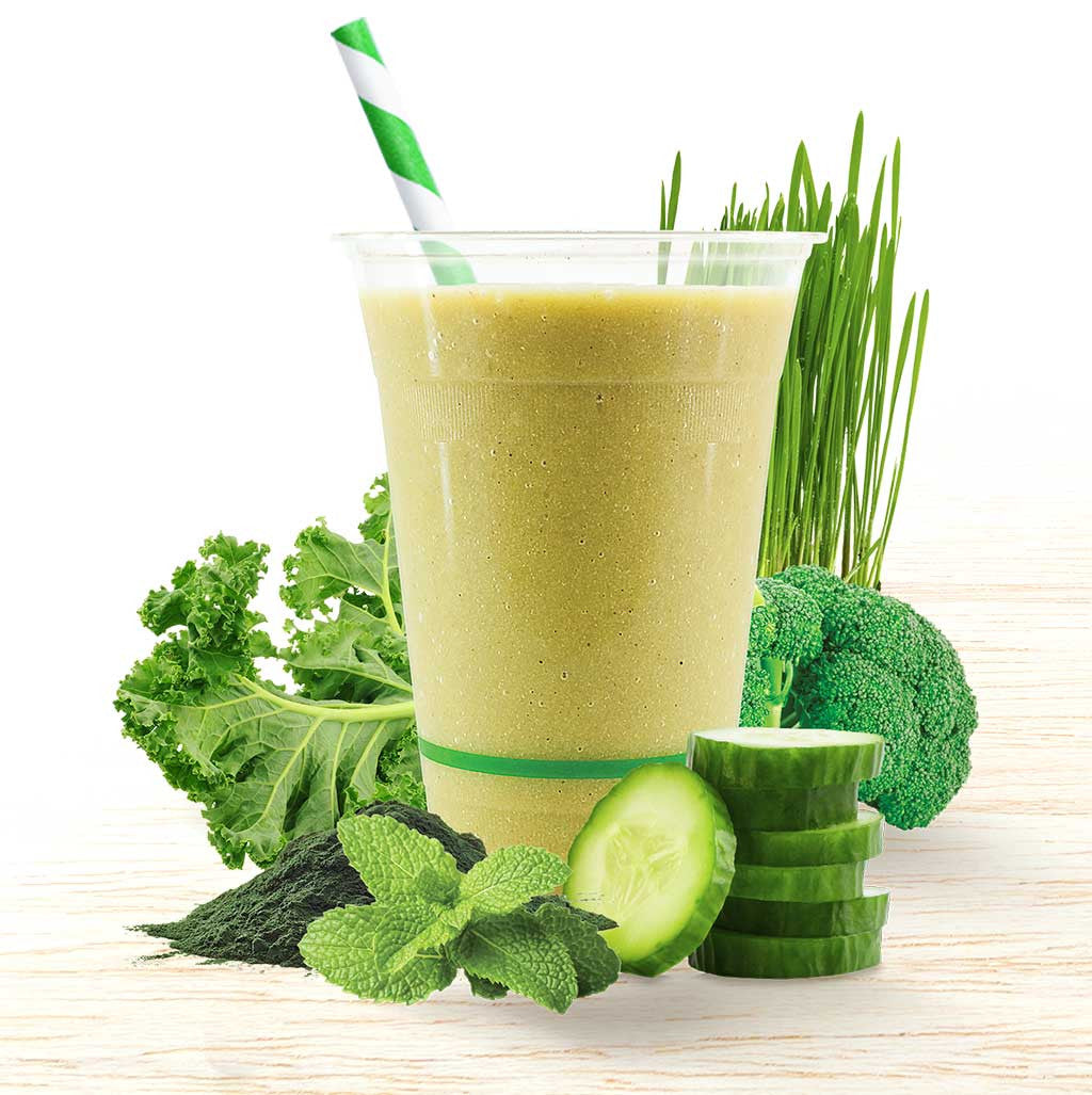 Super Smoothie - Alkalising Green - Oliver's Real Food