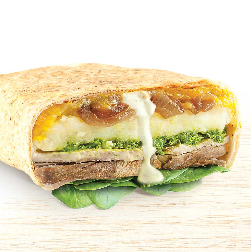 Lamb Roast Pita Pocket - Organic Food Delivered - Oliver's Real Food