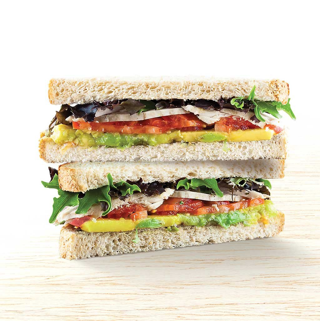Free Range Chicken & Avo Sandwich - Organic Food Delivered - Oliver's Real Food