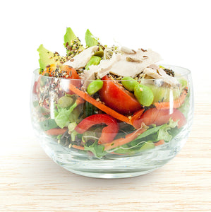 Seasonal Garden Salad with Free Range Chicken