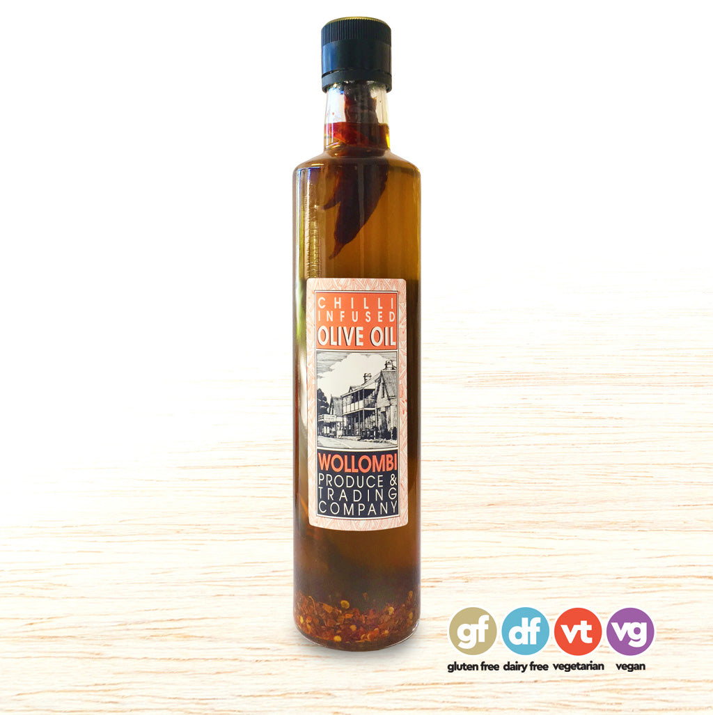 Chilli Oil - Wollombi Produce Chilli Infused Olive Oil