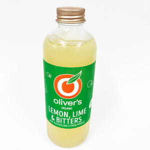 Oliver's Organic Lemon Lime Bitters - 300ml (Box of 12)
