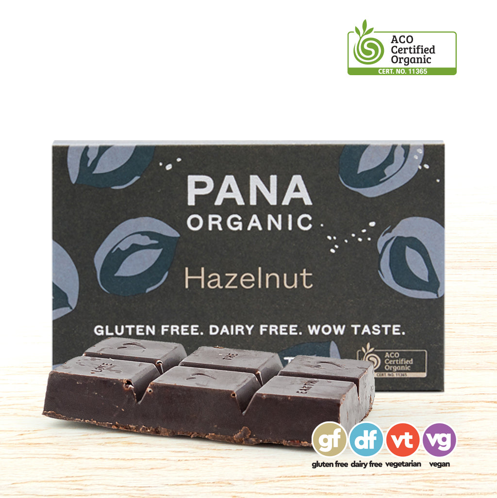 Pana Organic Raw Chocolate - Hazelnut