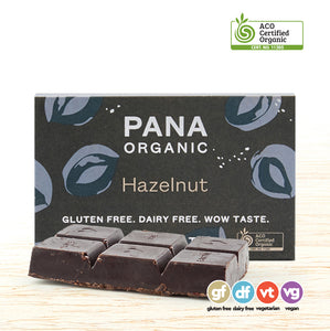 Chocolate - Pana Organic Raw - Hazelnut