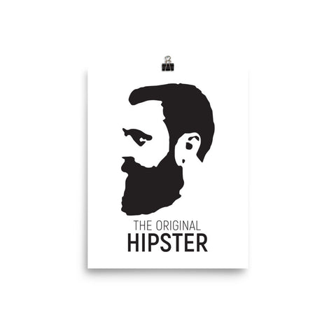 The Original Hipster Photo Paper Poster