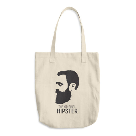 The Original Hipster Cotton Tote Bag