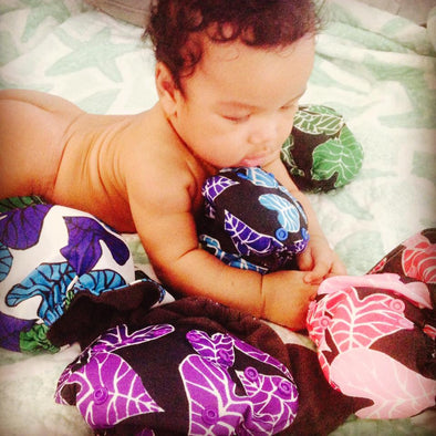 Opihi HULA Line - Clothe Reusbable Diapers (1-3)