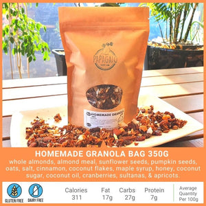 Breakfast & Snacks - Papagaio Health Cafe