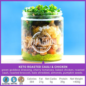 Healthy Meal Jars - Papagaio Health Cafe