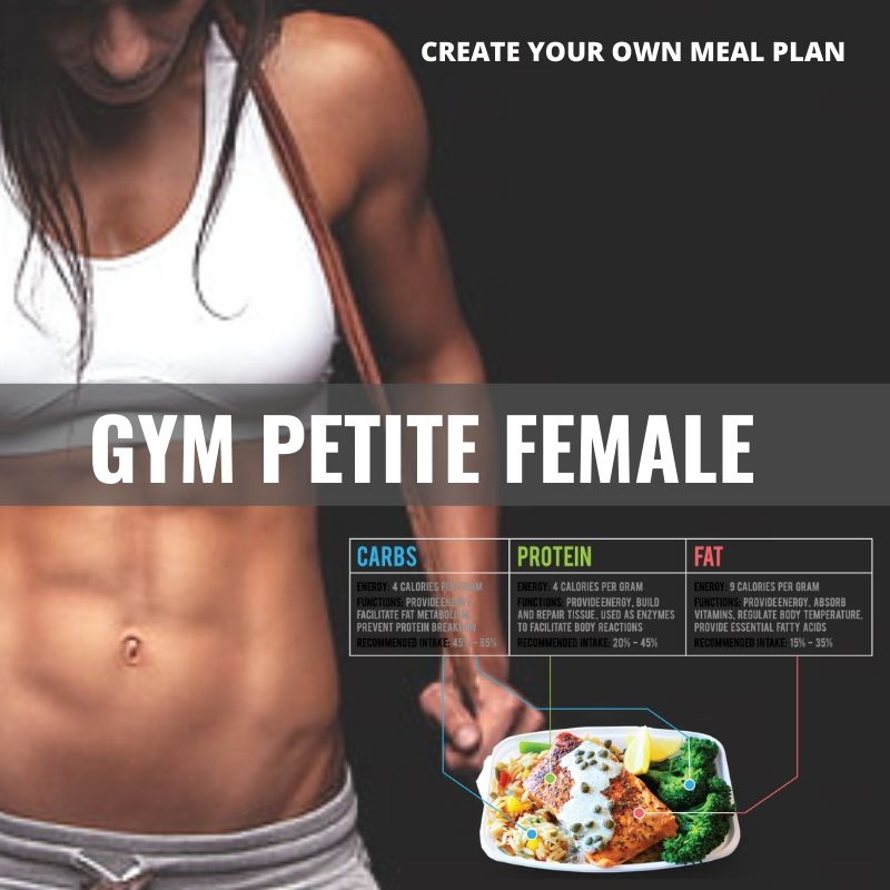 GYM Petite Female* - Papagaio Health Cafe