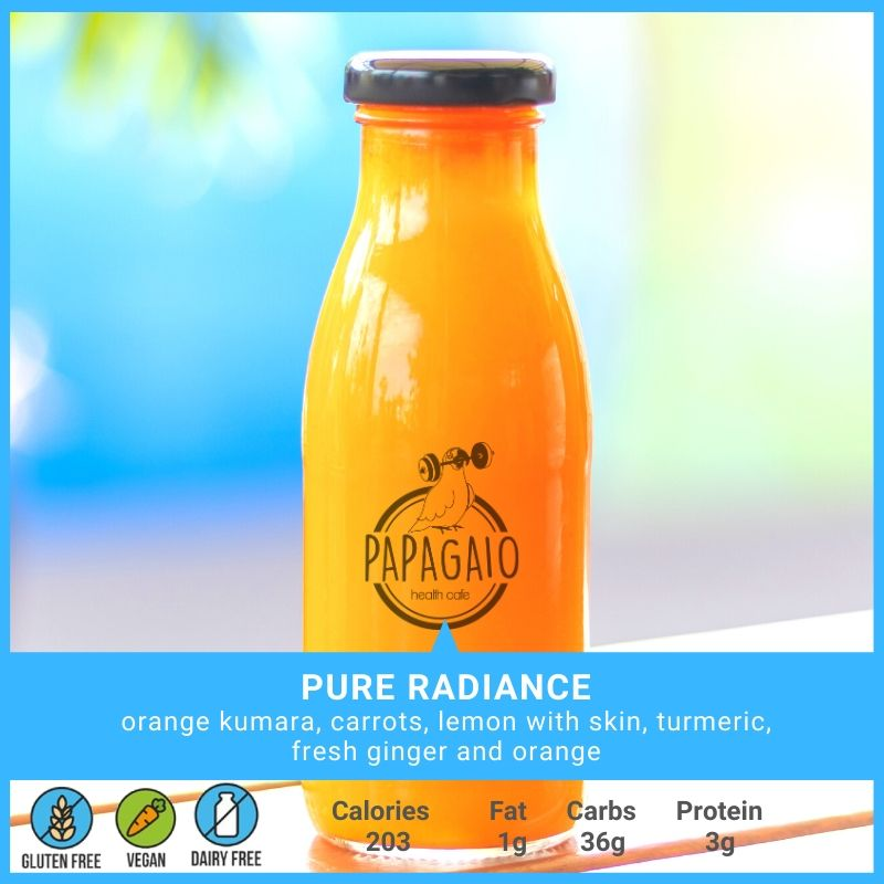 Premium Smoothies & Juices 250ml - Papagaio Health Cafe