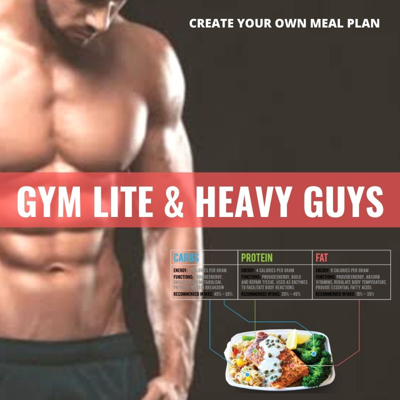 GYM Lite & Heavy Guys* - Papagaio Health Cafe