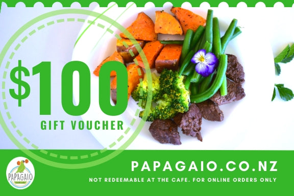 Gift Voucher - Papagaio Health Cafe