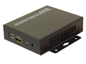 4-in-1 Coax to HDMI Converter with Loopthrough