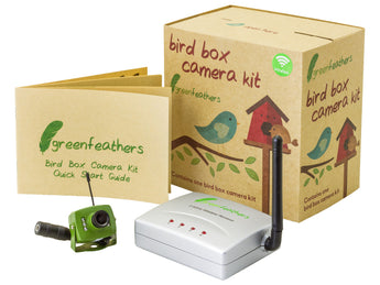 Wireless bird box camera kit