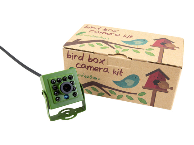Complete Deluxe HD Wired Bird Box Camera Kit