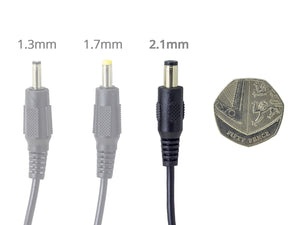 DC Power Extension Cable with 2.1mm/5.5mm Jack