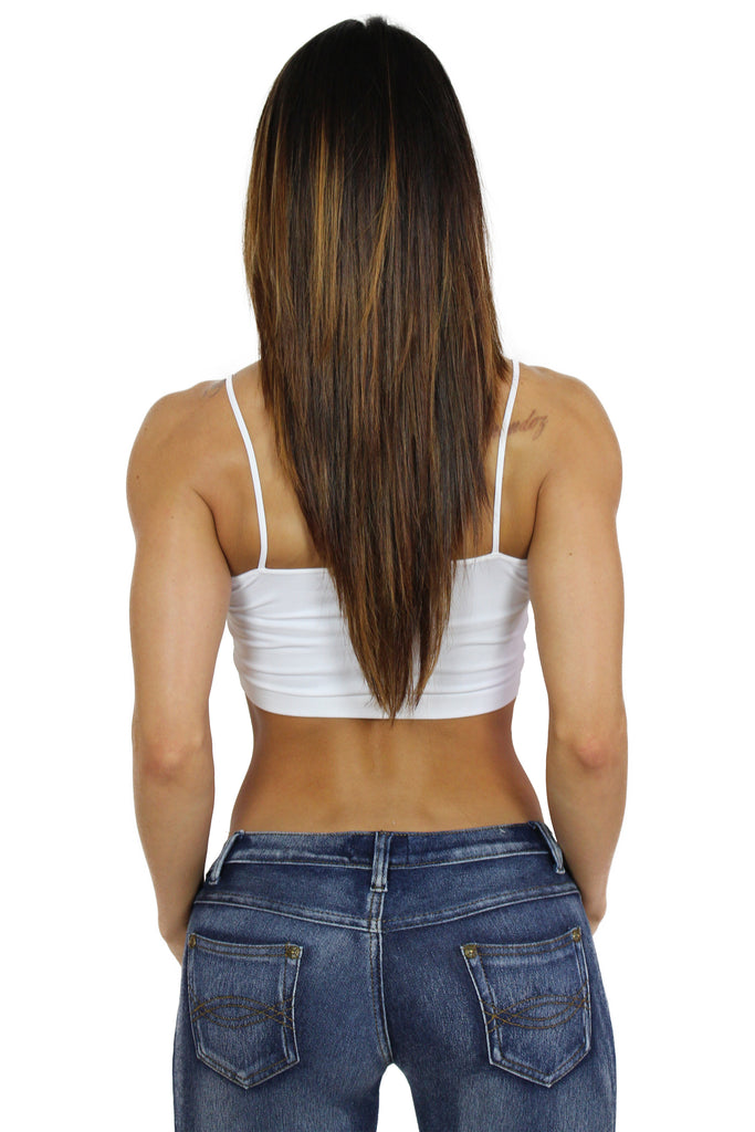 """UNRATED"" Graffiti String Tube Top In White!"
