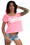 Selfie Shirt In Pink