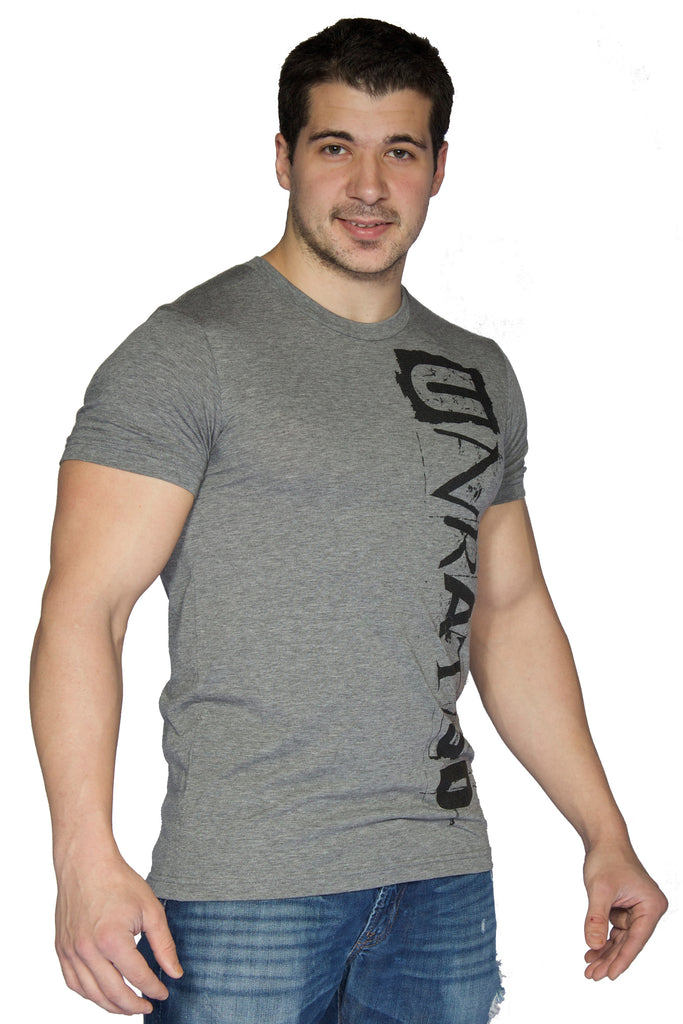 "Men's ""UNRATED"" Sport Tri Blend T-Shirt In Grey"