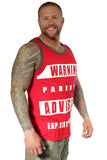 Men's Parental Advisory Tank!
