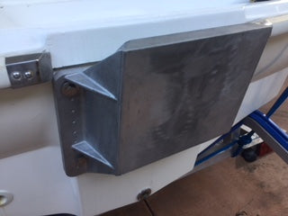 Clearwater Transom Bracket