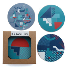 Fun Makes Good x DCA Coaster Set