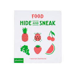 Food Hide & Sneak Board Book
