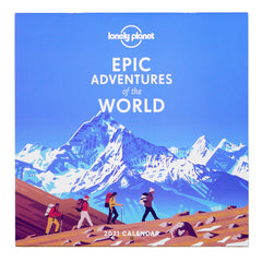 Lonely Planet Epic Adventures Calendar 2021